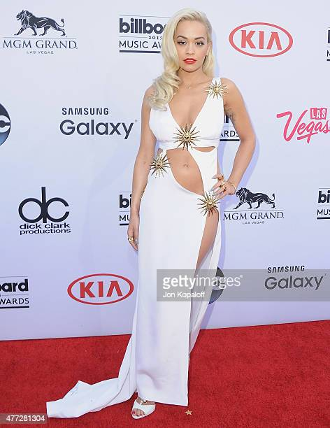 Singer Rita Ora arrives at the 2015 Billboard Music Awards at MGM Garden Arena on May 17 2015 in Las Vegas Nevada
