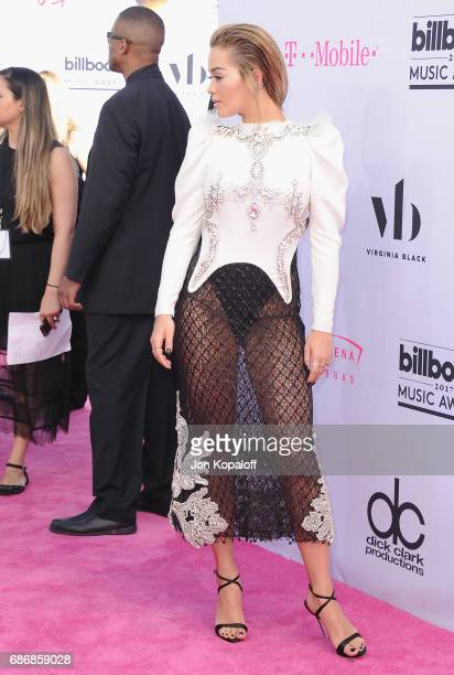 Singer Rita Ora arrives at the 2017 Billboard Music Awards at TMobile Arena on May 21 2017 in Las Vegas Nevada