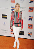 Singer Rita Ora arrives at the 22nd Annual Race To Erase MS at the Hyatt Regency Century Plaza on April 24 2015 in Century City California
