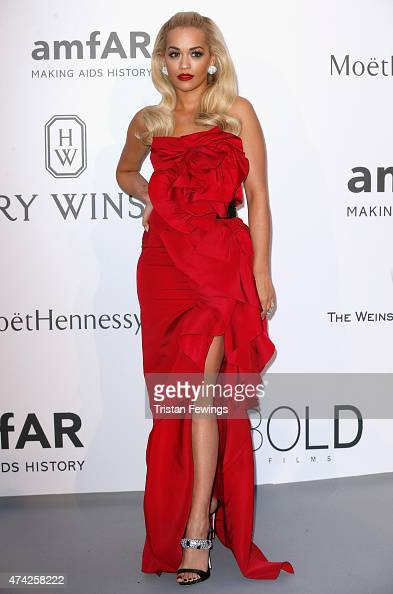 Singer Rita Ora attends amfAR's 22nd Cinema Against AIDS Gala Presented By Bold Films And Harry Winston at Hotel du CapEdenRoc on May 21 2015 in Cap...