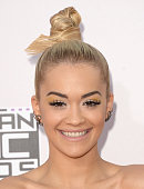 Singer Rita Ora attends the 2014 American Music Awards at Nokia Theatre LA Live on November 23 2014 in Los Angeles California
