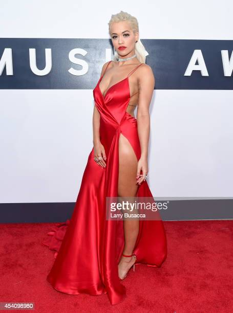 Singer Rita Ora attends the 2014 MTV Video Music Awards at The Forum on August 24 2014 in Inglewood California
