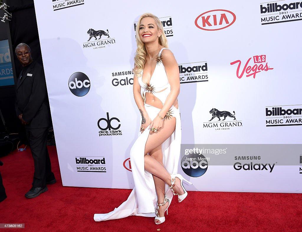 Singer Rita Ora attends the 2015 Billboard Music Awards at MGM Grand Garden Arena on May 17, 2015 in Las Vegas, Nevada.
