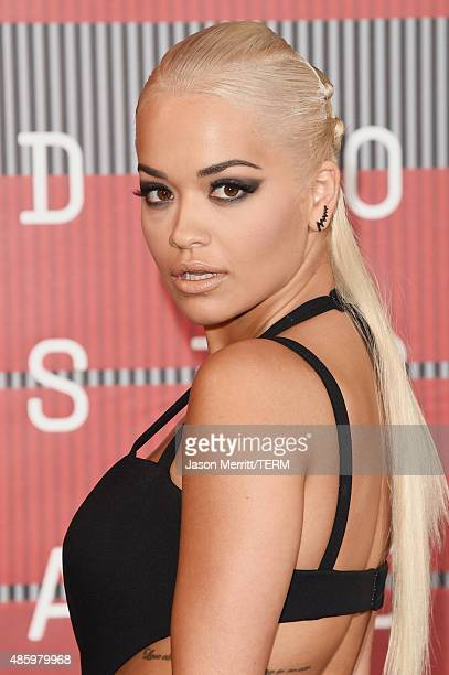 Singer Rita Ora attends the 2015 MTV Video Music Awards at Microsoft Theater on August 30 2015 in Los Angeles California