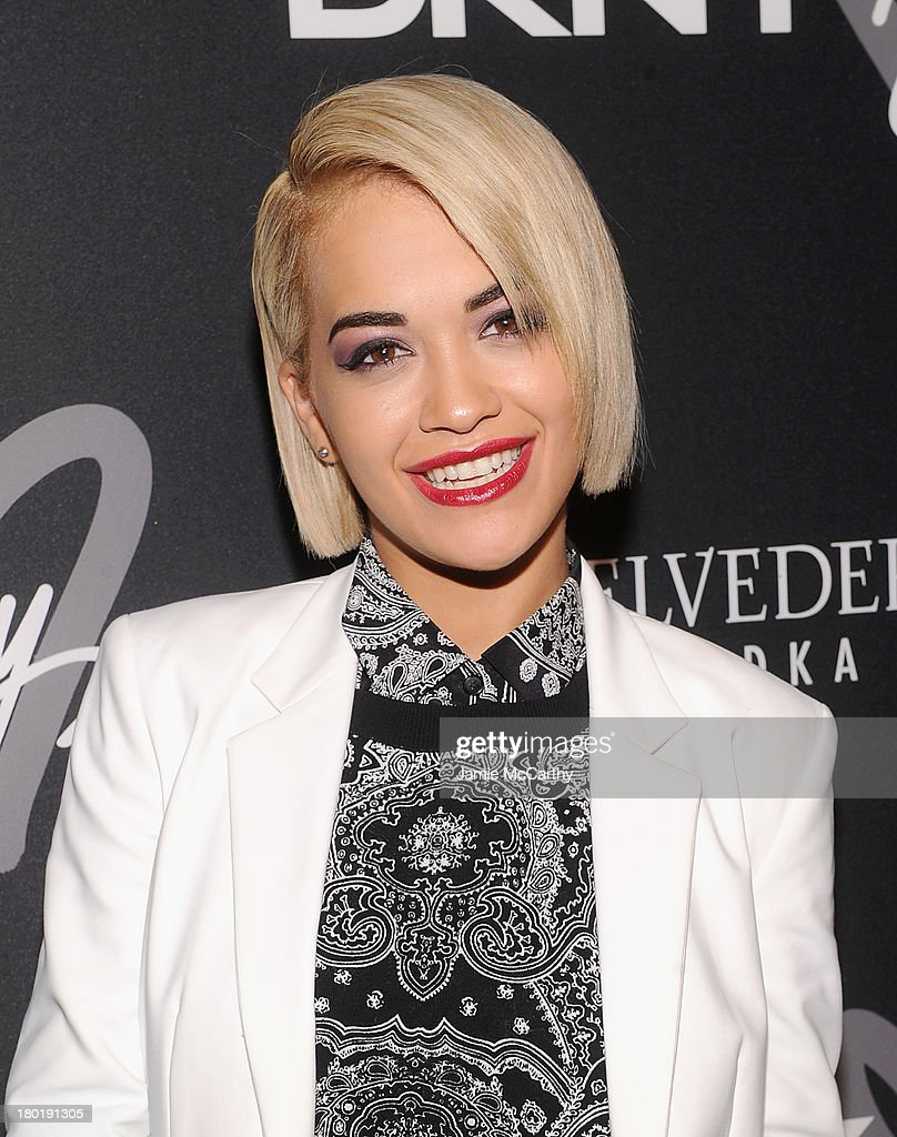 Singer <a gi-track='captionPersonalityLinkClicked' href=/galleries/search?phrase=Rita+Ora&family=editorial&specificpeople=5686485 ng-click='$event.stopPropagation()'>Rita Ora</a> attends the #DKNY25 Birthday Bash on September 9, 2013 in New York City.