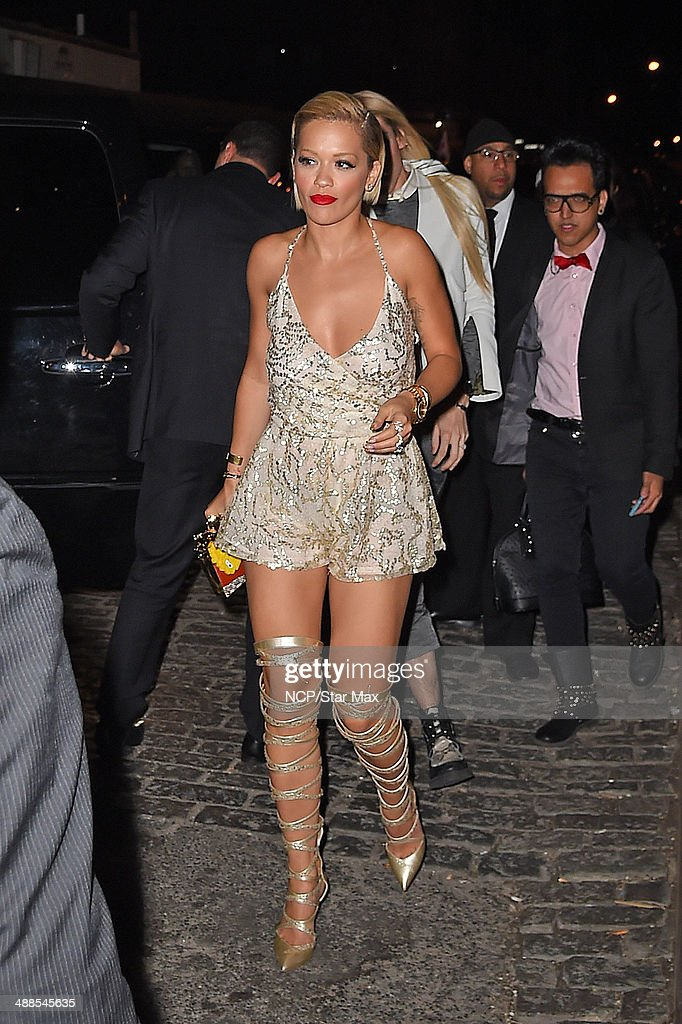 Singer Rita Ora is seen at the after-party for The Costume Institute Benefit Gala on May 5, 2014 in New York City.