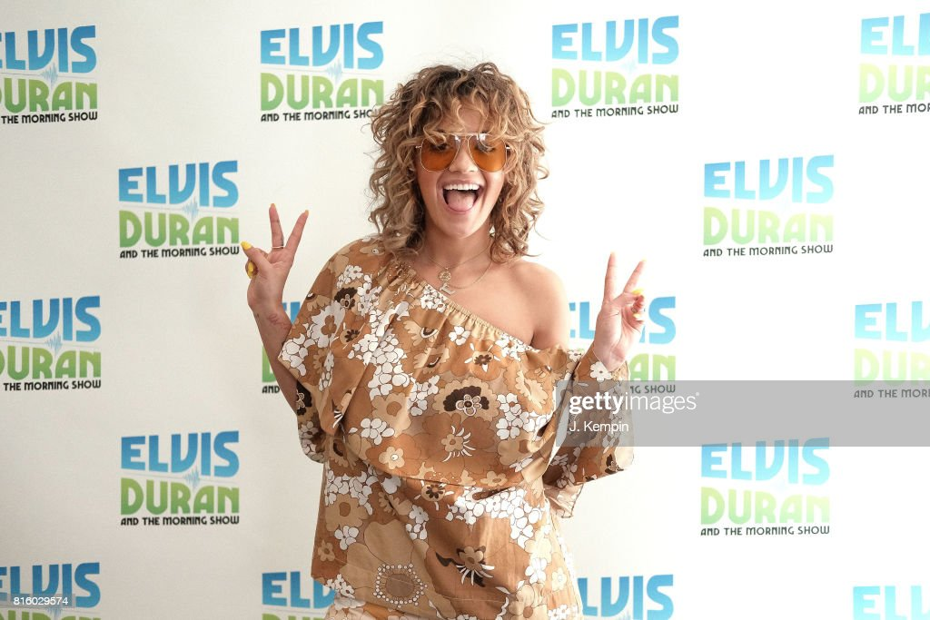 "Rita Ora Visits The ""Elvis Duran Z100 Morning Show"""