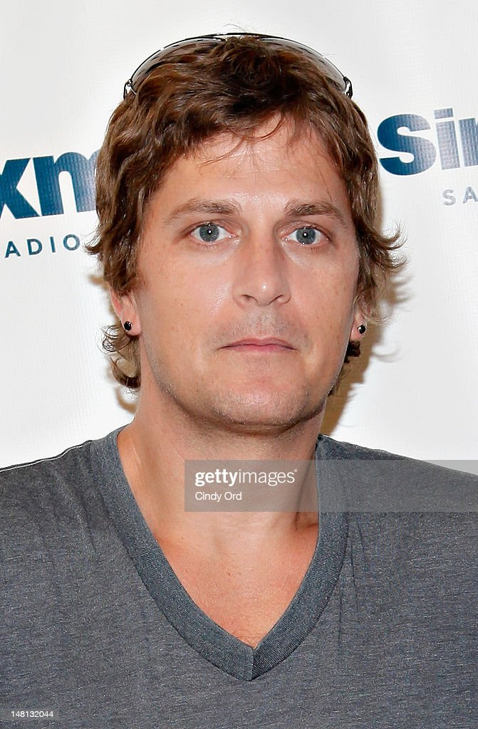 Singer Rob Thomas visits the SiriusXM Studio on July 10, 2012 in New York City.