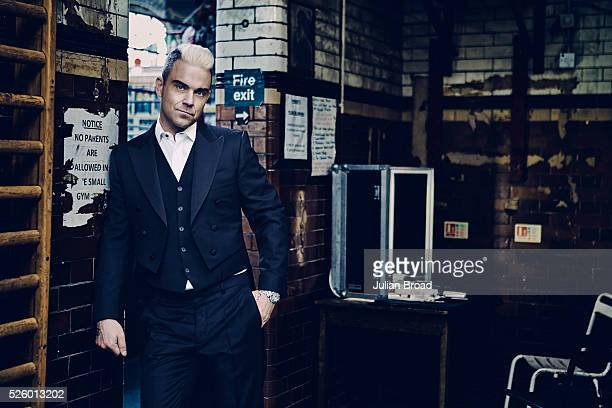 Singer Robbie Williams is photographed for Vanity Fair UK on June 24 2015 in London England