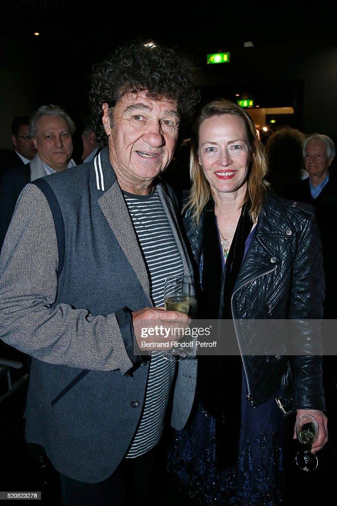 "Robert Charlebois : ""50 ans, 50 Chansons"" : Photocall At Theatre Bobino In Paris"