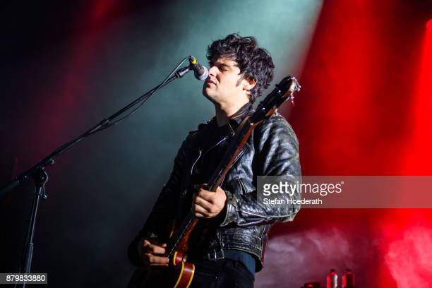 Singer Robert Levon Been of Black Rebel Motorcycle Club performs live on stage during a concert at Columbiahalle on November 25 2017 in Berlin Germany