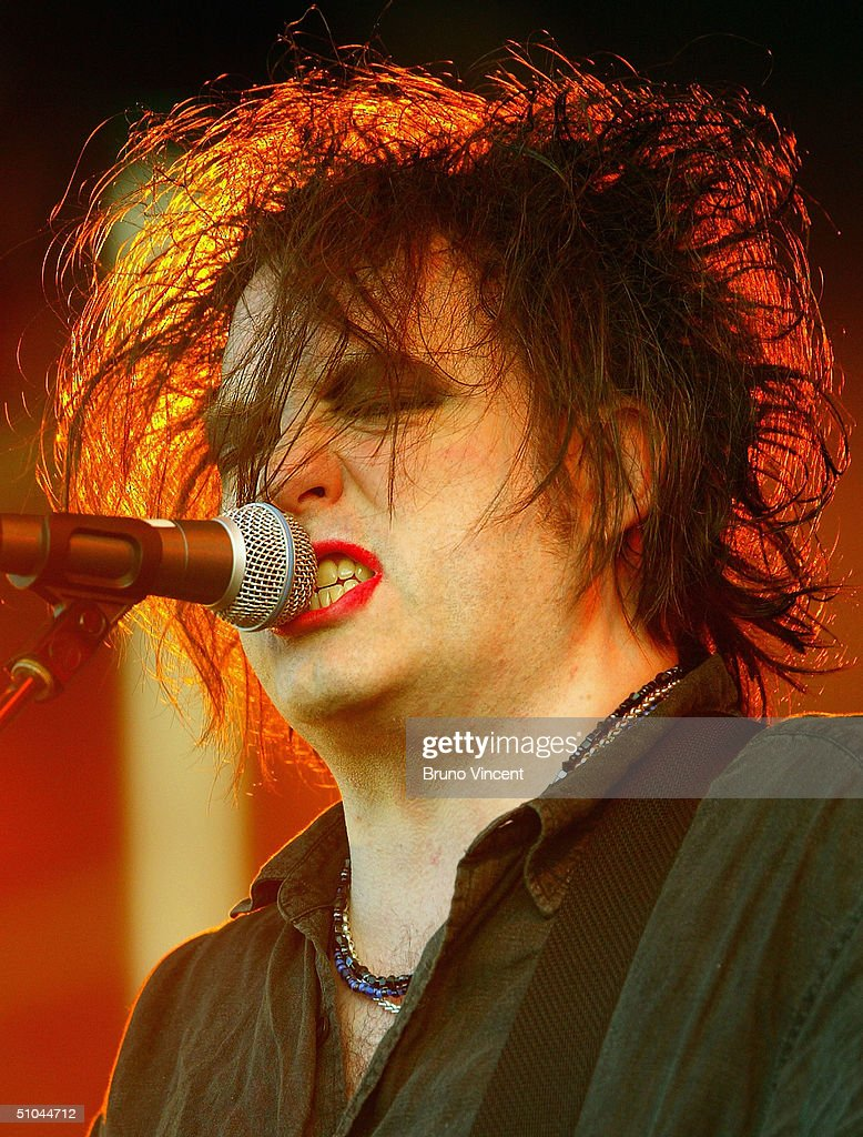 Perry bamonte stock photos and pictures getty images - Singer Robert Smith Fromthe Cure Performs On Stage On The Second Day Of The 4
