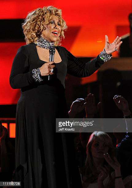Singer Roberta Flack performs onstage during the 52nd Annual GRAMMY Awards held at Staples Center on January 31 2010 in Los Angeles California