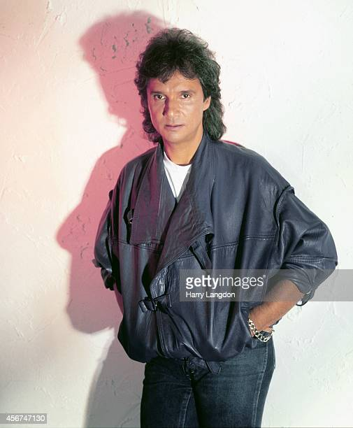 Singer Roberto Carlos poses for a portrait in 1995 in Los Angeles California