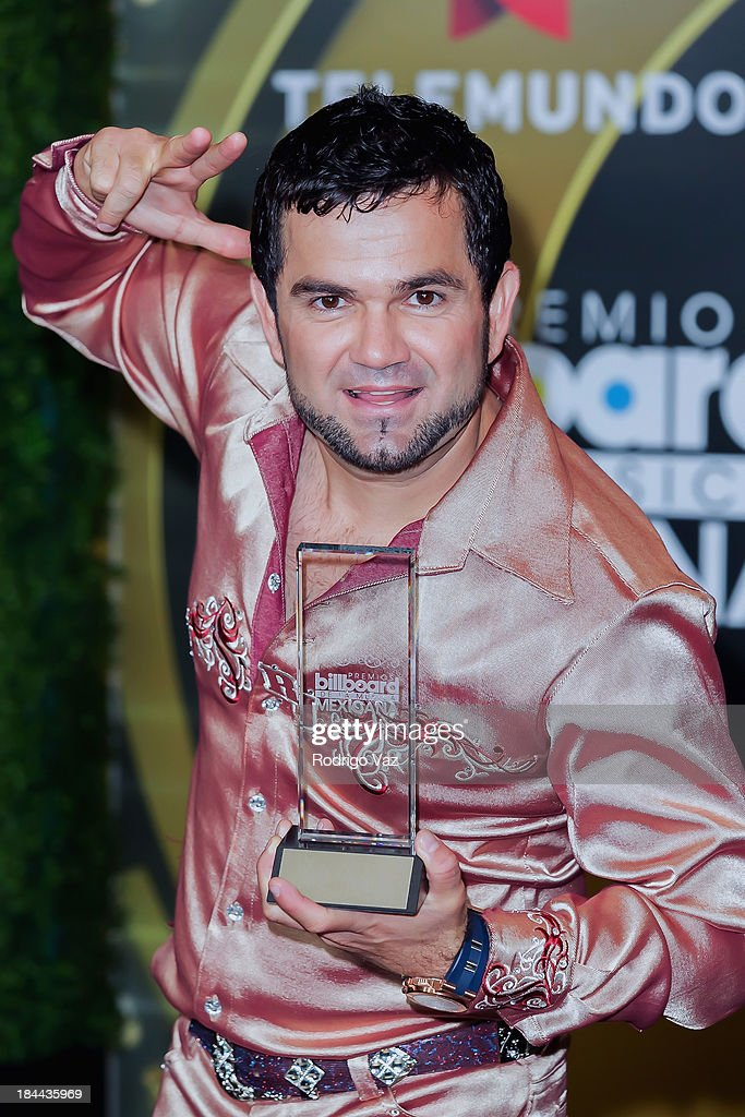 singer Roberto Junior attends the 2013 Billboard Mexican Music Awards Press Room at Dolby Theatre on October 9, 2013 in Hollywood, California.