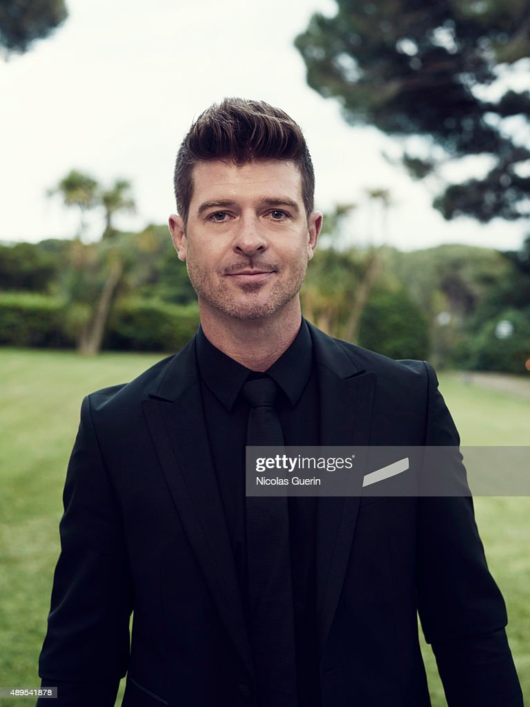 Singer Robin Thicke is photographed for Self Assignment on May 15, 2015 in Cannes, France.