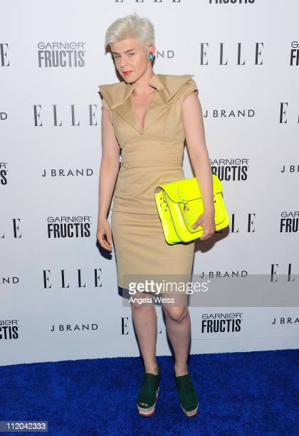 Singer Robyn arrives at ELLE's 2nd Annual Women In Music Event at Music Box on April 11 2011 in Hollywood California