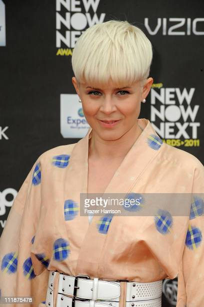 Singer Robyn arrives at the 4th Annual Logo's 'NewNowNext Awards' 2011 at Avalon on April 7 2011 in Hollywood California