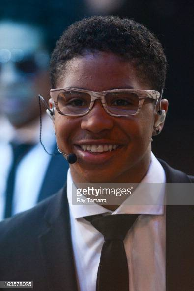 Singer Roc Royal of Mindless Behavior attends the 'Good Morning America' taping at the ABC Times Square Studios on March 12 2013 in New York City