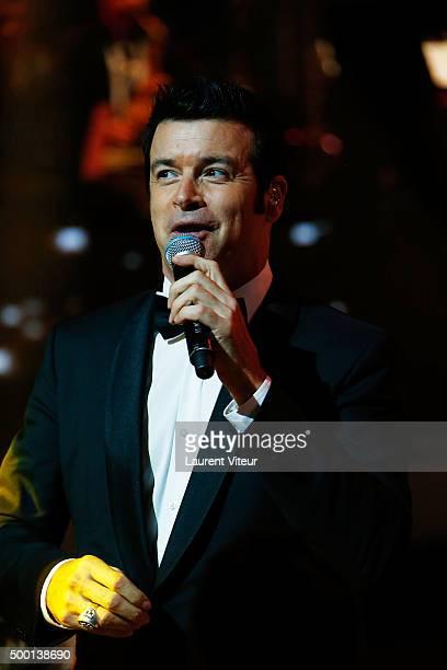 Singer Roch Voisine attends the 'France Television Telethon 2015'Marc Lavoine at Hippodrome de Longchamp on December 5 2015 in Paris France