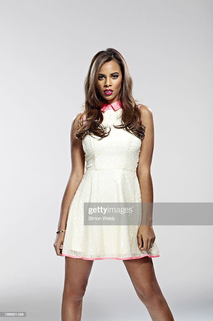 Singer Rochelle Wiseman of girl band The Saturdays is photographed for We Love Pop on November 22, 2012 in London, England.
