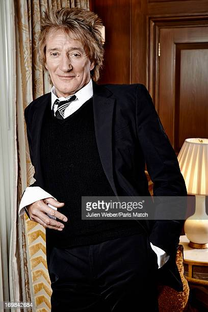 Singer Rod Stewart is photographed for Paris Match on March 20 2013 in London England