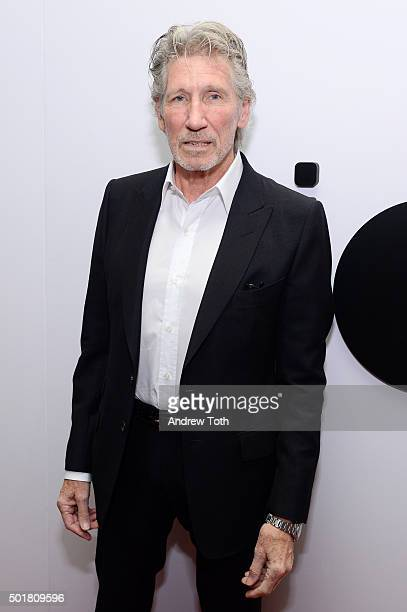 Singer Roger Waters attends Jazz at Lincoln Center's Ertegun Atrium and Ertegun Hall of Fame grand reopening at Jazz at Lincoln Center on December 17...