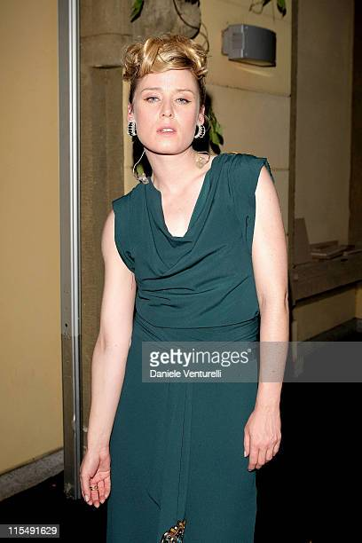Singer Roisin Murphy attends Gucci Party during Milan Fashion Week Spring/Summer 2009 on June 23 2008 in Milan Italy