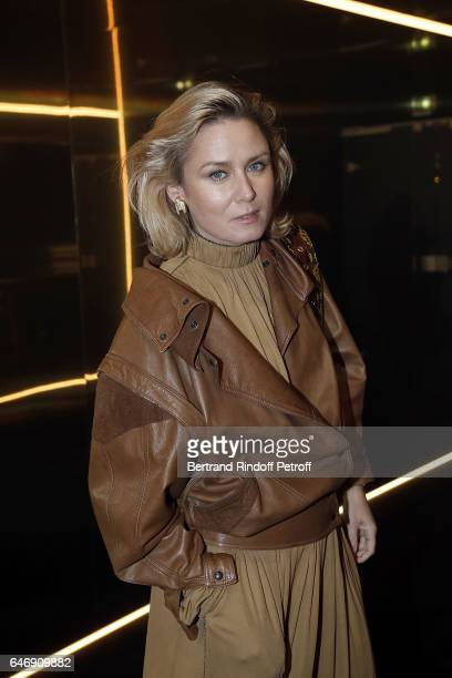 Singer Roisin Murphy attends Yves Saint Laurent Beauty Party as part of the Paris Fashion Week Womenswear Fall/Winter 2017/2018 at Carre Des...