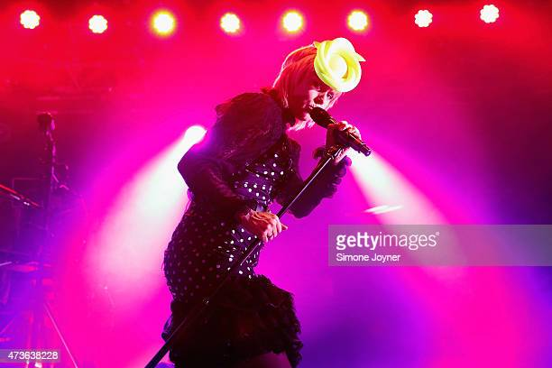 Singer Roisin Murphy performs live on stage at The Roundhouse on May 16 2015 in London England