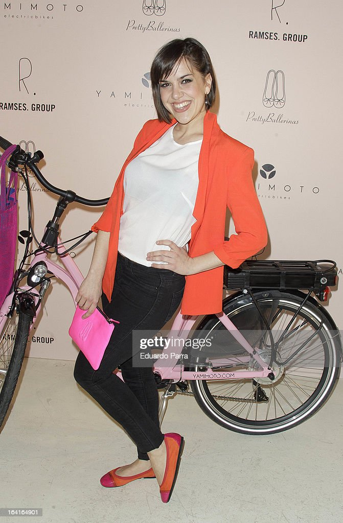 Singer Roko attends Pretty Ballerinas photocall party at Ramses bar on March 20, 2013 in Madrid, Spain.
