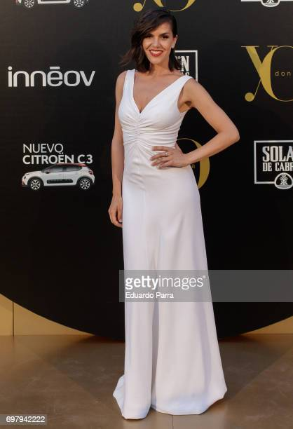 Singer Roko attends the 'Yo Donna International Awards' photocall at Duques de Pastrana palace on June 19 2017 in Madrid Spain