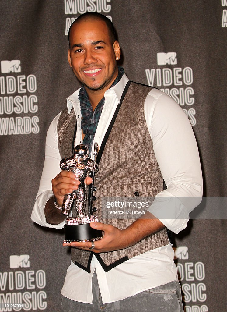 Singer Romeo poses in the press room during the MTV Video Music Awards at NOKIA Theatre L.A. LIVE on September 12, 2010 in Los Angeles, California.