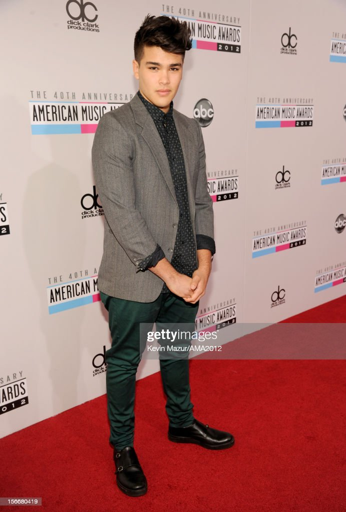 Singer Romeo Testa attends the 40th American Music Awards held at Nokia Theatre L.A. Live on November 18, 2012 in Los Angeles, California.