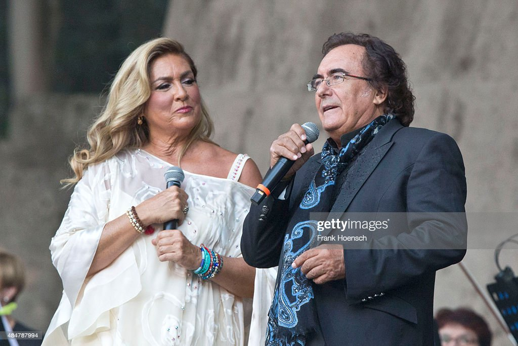 Al bano romina power perform in berlin getty images for Al bano e romina power