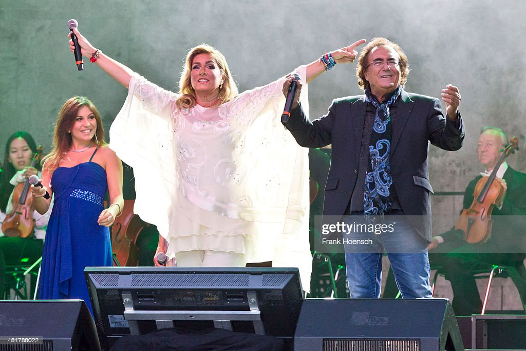 Al Baño Romina Power:Al Bano & Romina Power Perform In Berlin