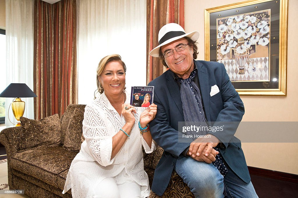 Al bano romina power photo session getty images for Al bano romina power