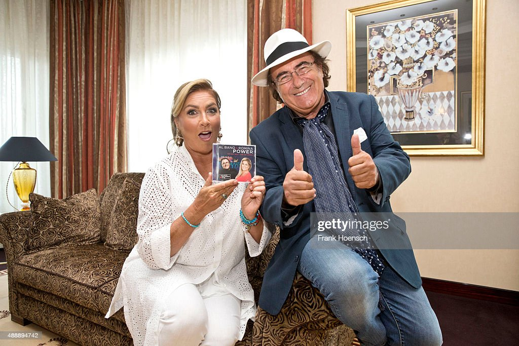 Al Baño Romina Power:Al Bano & Romina Power Photo Session