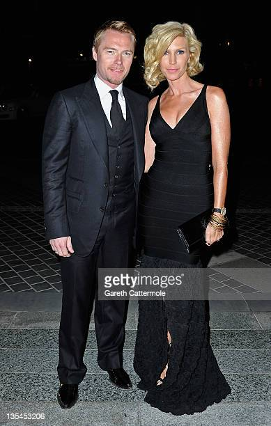 Singer Ronan Keating with his wife Yvonne attend the Oxfam Charity Gala during day four of the 8th Annual Dubai International Film Festival held at...
