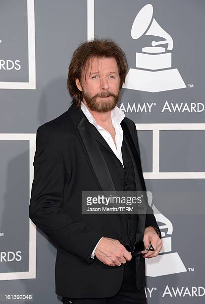 Singer Ronnie Dunn arrives at the 55th Annual GRAMMY Awards at Staples Center on February 10 2013 in Los Angeles California