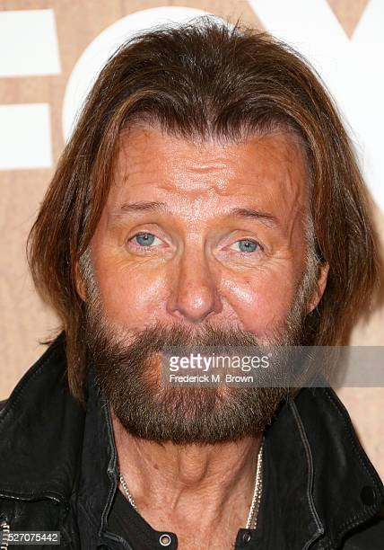 Singer Ronnie Dunn of Brooks and Dunn winner of the 'Nash Icon' award poses in the press room during the 2016 American Country Countdown Awards at...