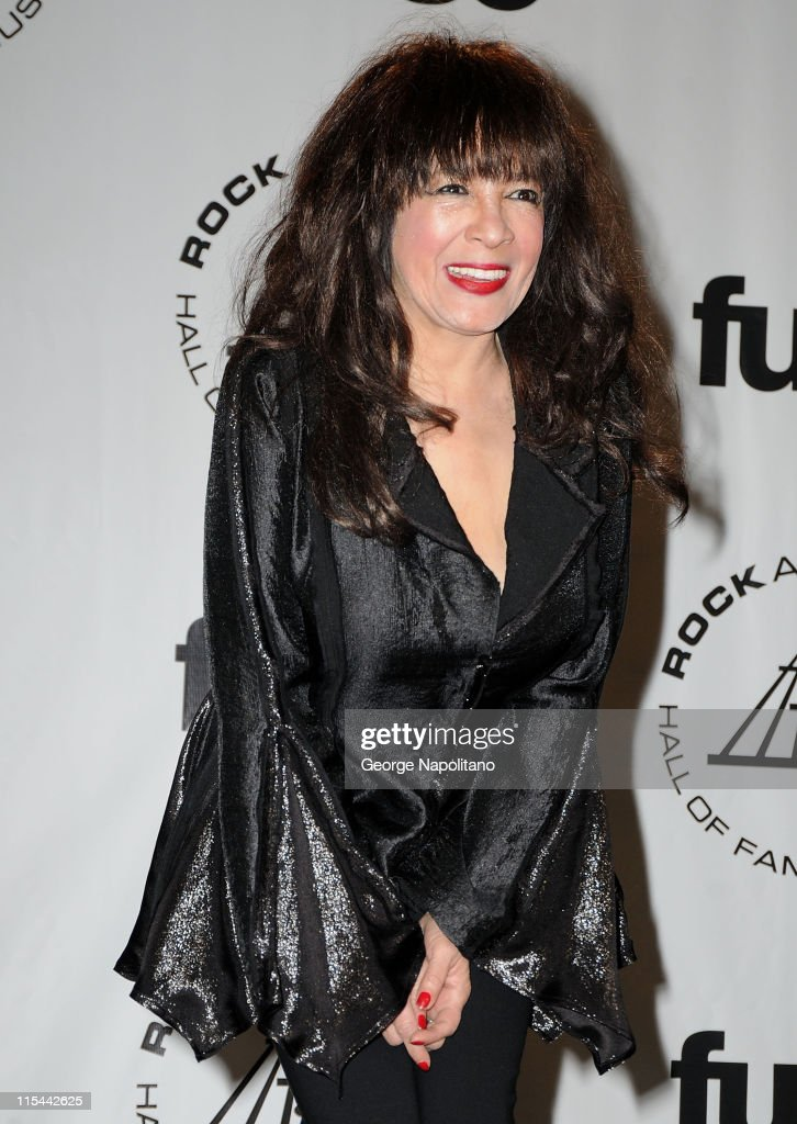 Singer Ronnie Spector attends the 25th Annual Rock And Roll Hall Of Fame Induction Ceremony at the Waldorf=Astoria on March 15, 2010 in New York City.