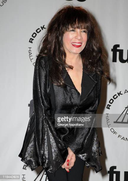 Singer Ronnie Spector attends the 25th Annual Rock And Roll Hall Of Fame Induction Ceremony at the Waldorf=Astoria on March 15 2010 in New York City