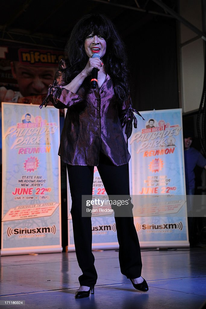 Singer Ronnie Spector performs onstage the Cousin Brucie's First Annual Palisades Park Reunion presented by SiriusXM on June 22, 2013 in East Rutherford, New Jersey.