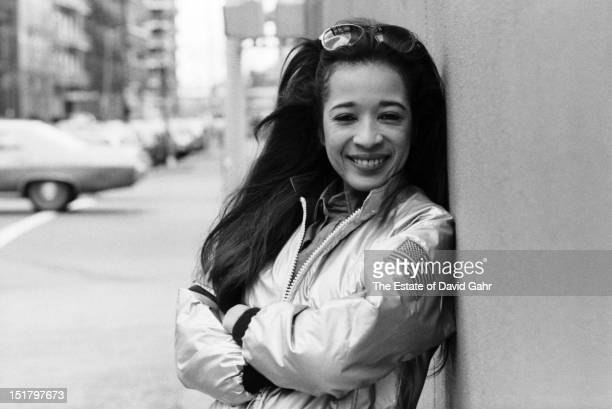 Singer Ronnie Spector poses for a portrait in March 1977 in New York City New York