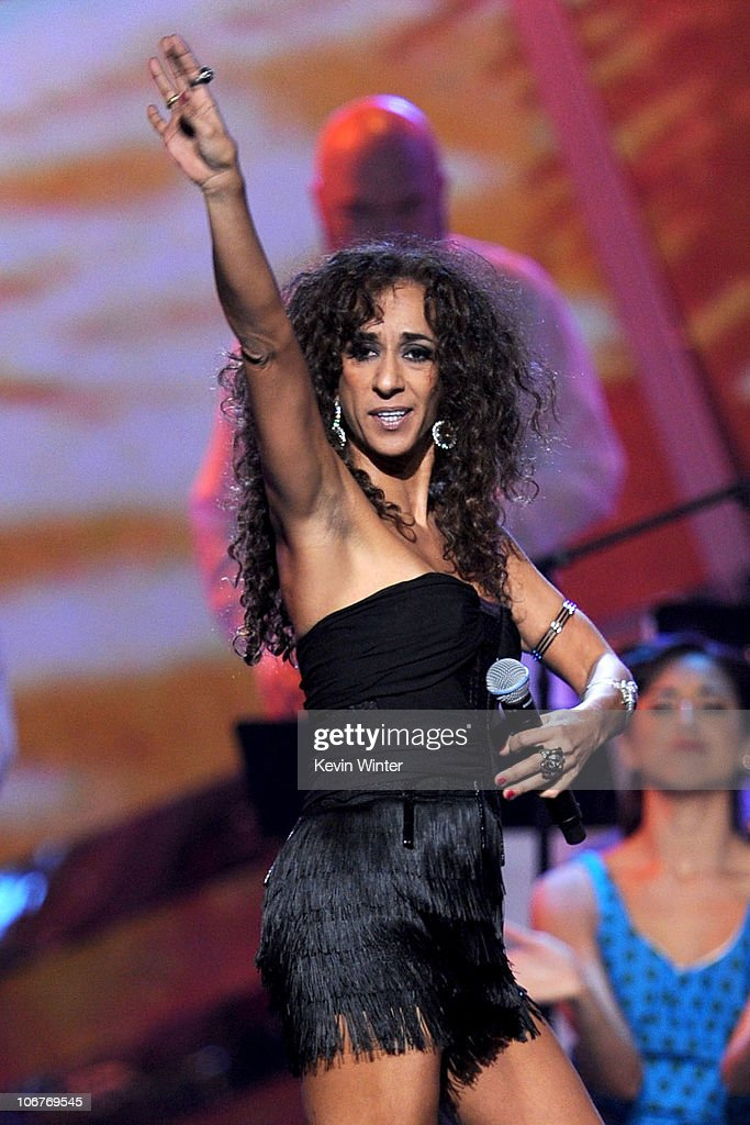 Singer Rosario performs onstage during the 11th annual Latin GRAMMY Awards at the Mandalay Bay Events Center on November 11, 2010 in Las Vegas, Nevada.