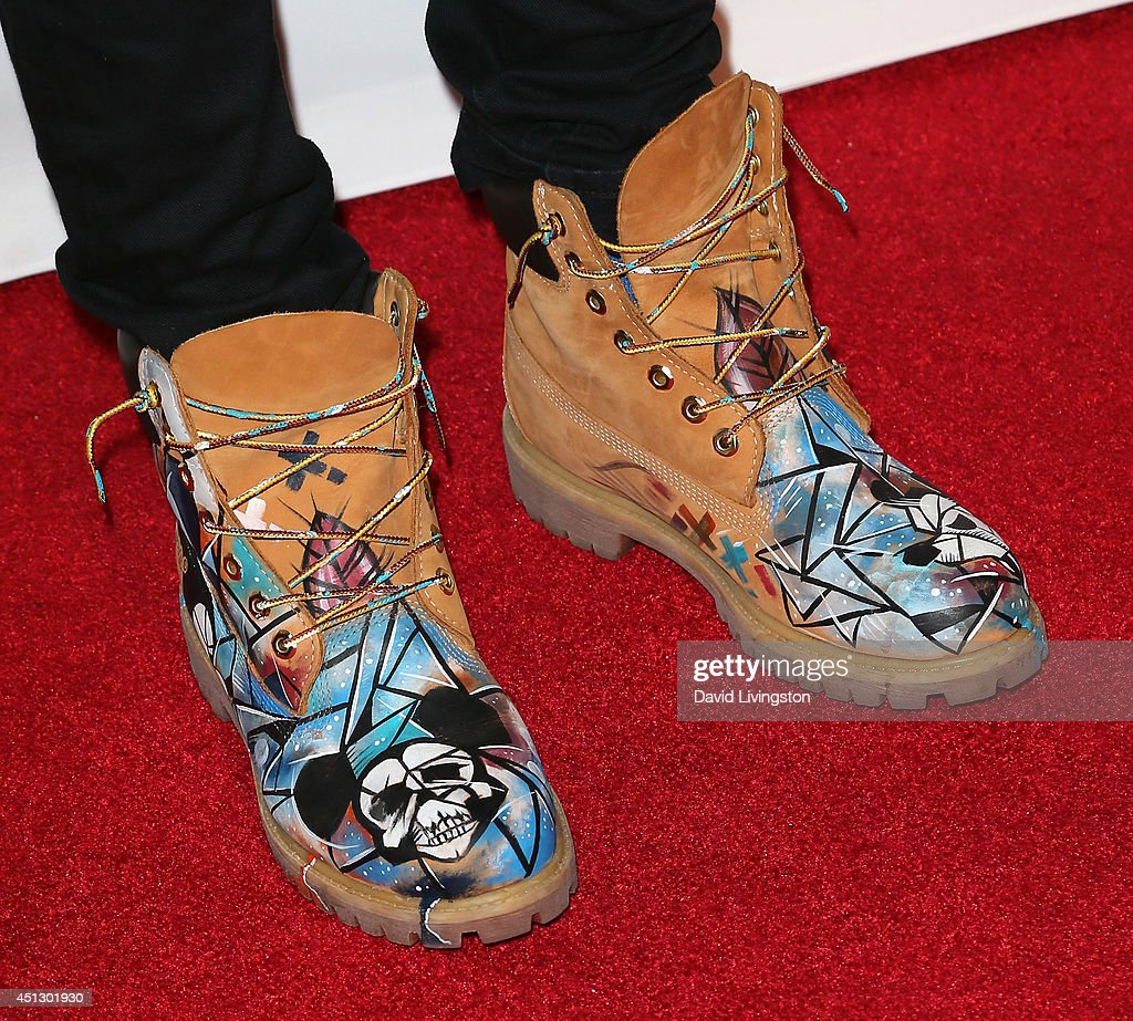 Singer Roshon Fegan (shoe detail) attends the ASCAP 27th Annual Rhythm & Soul Music Awards at The Beverly Hilton Hotel on June 26, 2014 in Beverly Hills, California.