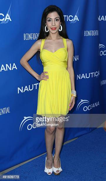 Singer Roxy Darr attends the Nautica and LA Confidential's Oceana Beach House Party at the Marion Davies Guest House on May 16 2014 in Santa Monica...