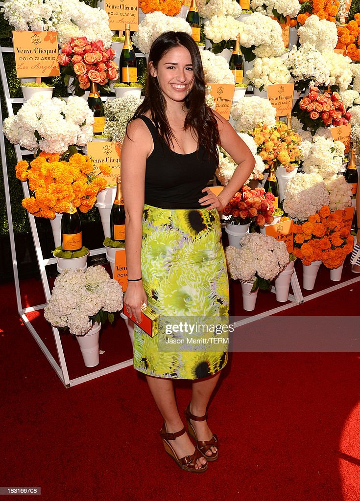 Singer Rozzi Crane attends The Fourth-Annual Veuve Clicquot Polo Classic, Los Angeles at Will Rogers State Historic Park on October 5, 2013 in Pacific Palisades, California.