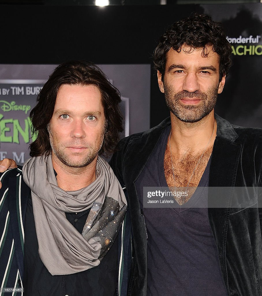 Singer <a gi-track='captionPersonalityLinkClicked' href=/galleries/search?phrase=Rufus+Wainwright&family=editorial&specificpeople=206122 ng-click='$event.stopPropagation()'>Rufus Wainwright</a> and Jorn Weisbrodt attend the premiere of 'Frankenweenie' at the El Capitan Theatre on September 24, 2012 in Hollywood, California.